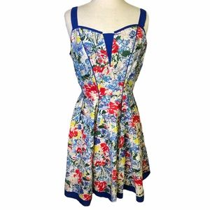 Joe Browns floral fit and flare dress